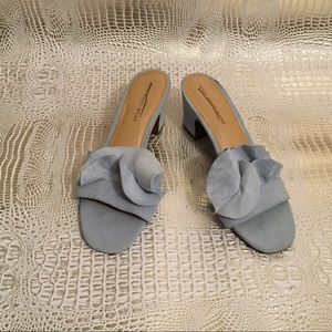 *Never Worn* WHO WHAT WEAR Mules